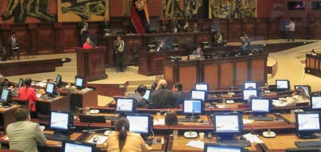 Espinosa insiste en su inocencia durante juicio político. Foto: API