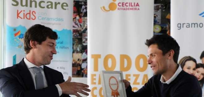 SUNCARE suscribió un convenio con la Fundación Cecilia Rivadeneira.
