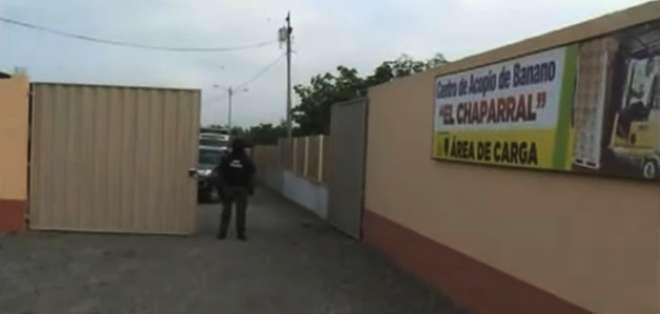 La policía capturó a 7 personas acusadas de integrar la banda. Foto: Captura