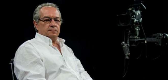 Khalifé se desempeñó como entrevistador de Ecuador TV. Foto: Medios Públicos.