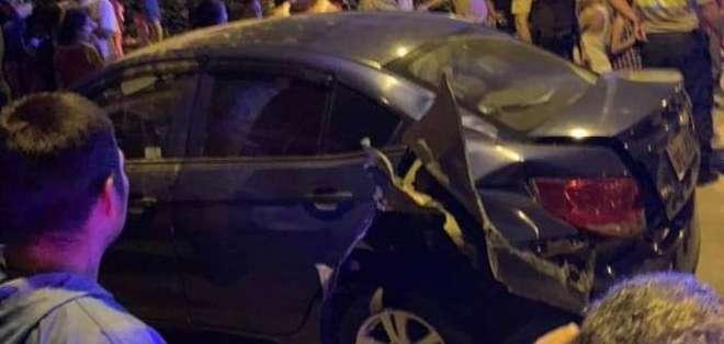 El abogado, víctima del ataque, no resultó herido. Foto: Cortesía