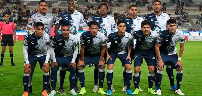 El ecuatoriano marcó el tercer tanto en la goleada del Pachuca 4-0 sobre Puebla. Foto: Tomada de @Tuzos