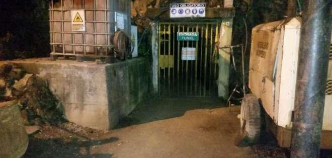 En la Sultana de El Oro existen ocho minas que atraviesan su zona urbana. Foto: Archivo/Ejército