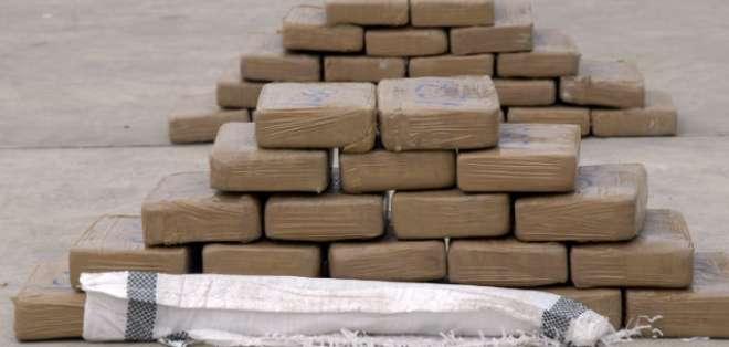 Decomisan 300 kilos de marihuana en El Oro. Foto: Archivo - Referencial
