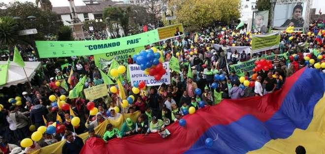 Empresarios dicen que eran chantajeados para pagar eventos del gobierno de la revolución ciudadana. Foto: Archivo El Ciudadano