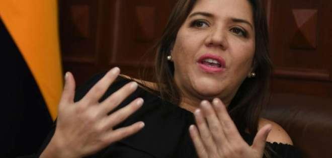ECUADOR.- La exvicepresidenta es acusada del delito de concusión, por cobro de diezmos en Asamblea. Foto: Archivo