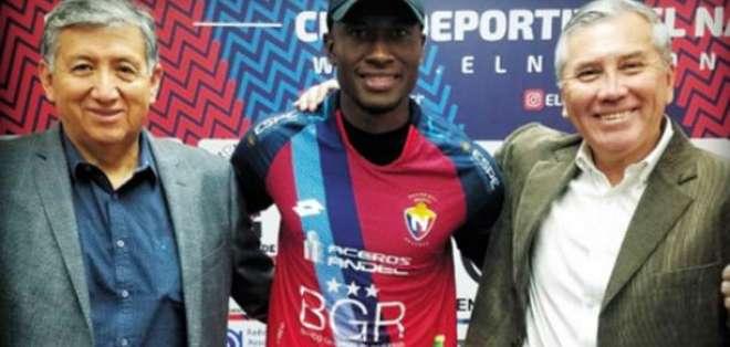 Steven Zamora, jugador de El Nacional.