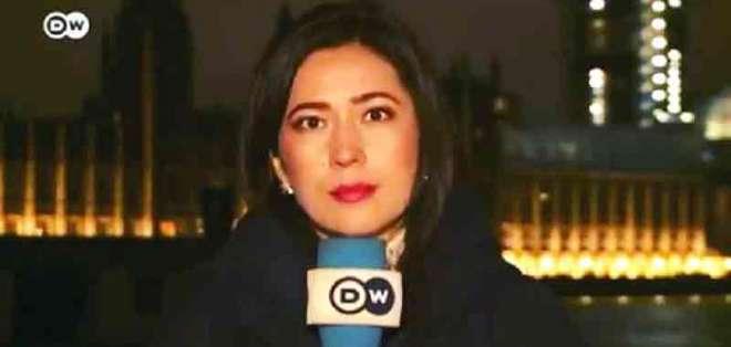 INGLATERRA.- La comunicadora de 36 años trabaja en la BBC de Londres, luego de su paso por DW. Foto: Cortesía