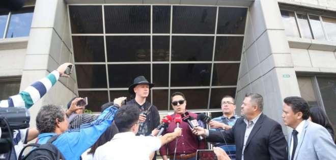 QUITO, Ecuador.- La defensa de Bini cuestiona acceso de Estados Unidos a equipos incautados en el caso. Foto: API