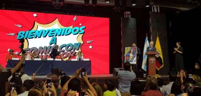 Una nueva heroína se presentó en la Comic Con Ecuador.