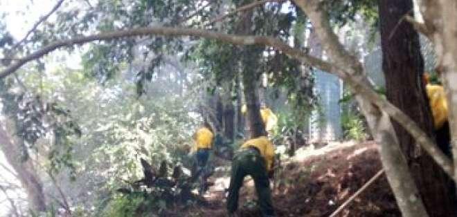 Muchos incendios están vinculados a quemas para preparar suelos para cultivos y ganadería. Foto: @ConredGuatemala