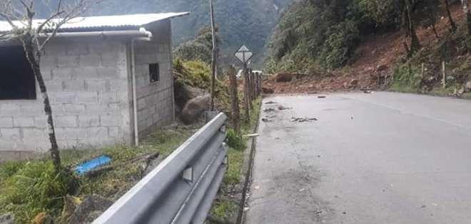 La ruta alterna es la de Sígsig-Chigüinda-Gualaquiza. Foto: Cortesía