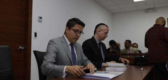 QUITO, Ecuador.- Fiscalía sustenta el cambio de delito en intento del ciudadano sueco de acceder a sistemas de CNT. Foto: API