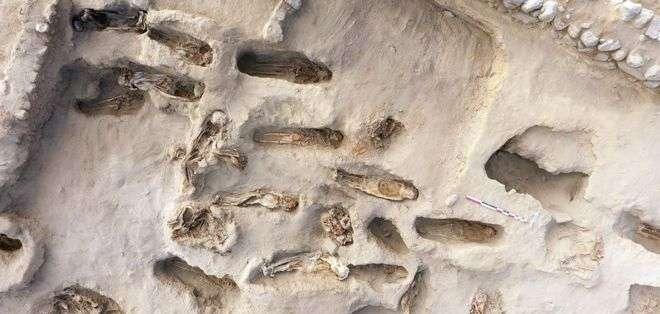 Los expertos creen que los niños fueron sacrificados para apaciguar a los dioses de Chimú.