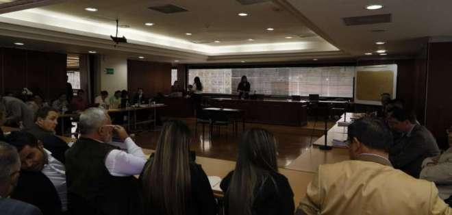 Terán revela que por orden de Correa elaboró una matriz para aportes. Foto: API