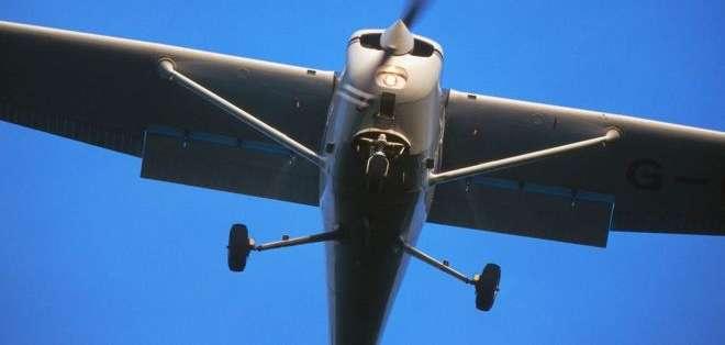 Sylvester iba a bordo de una avioneta Cessna similar a la de la foto.