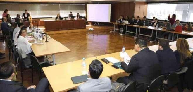 QUITO, Ecuador.- José Conceição Santos rindió su testimonio anticipado desde Brasil en caso Sobornos. Foto: API