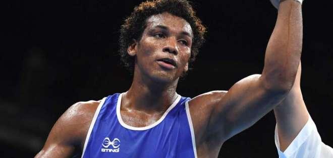 Carlos Mina, boxeador olímpico ecuatoriano.
