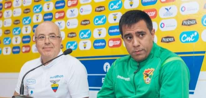 El entrenador interino de la 'tricolor' dio su opinión sobre su sucesor. Foto: Tomada de @FEFecuador