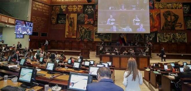 Consejeros del CNE acudirán a la Asamblea para exponer su proyecto. Foto: Asamblea