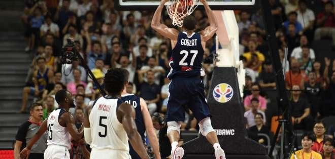 Los europeos eliminaron a Estados Unidos en los cuartos de final del torneo. Foto: YE AUNG THU / AFP