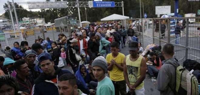 Ellos podrán entrar al país con un permiso de tránsito y pasar a una tercera nación. Foto: Archivo AP