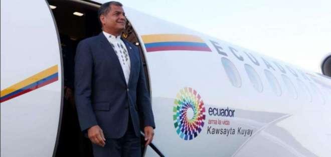 ECUADOR.- Contraloría detectó que 91 de los 261 vuelos internacionales no tenían autorización. Foto: Archivo