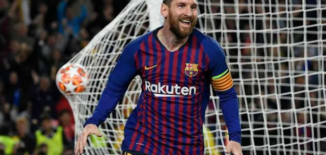 Lionel Messi figura del FC Barcelona.