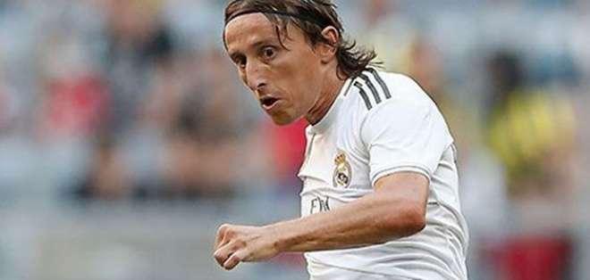 Luka Modric volante croata.