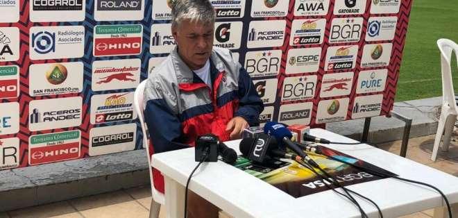 Marcelo Zuleta, entrenador 'militar'.
