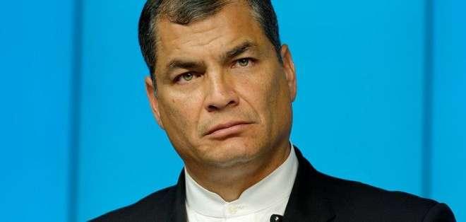 """El mandatario ecuatoriano afirmó que Irán es """"una de las pocas democracias formales""""."""