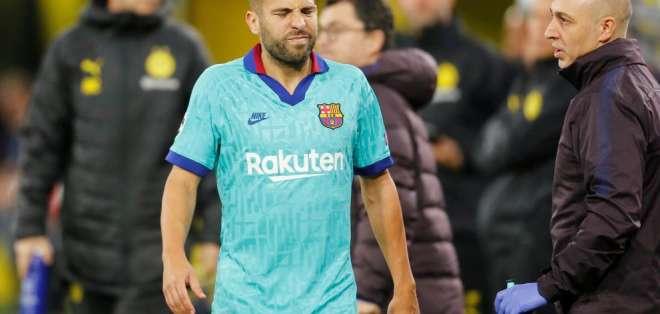 Jordi Alba, lateral del FC Barcelona.