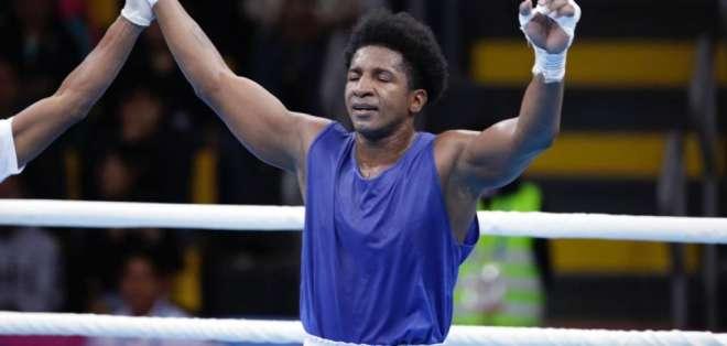 Julio Castillo, boxeador 'tricolor'.
