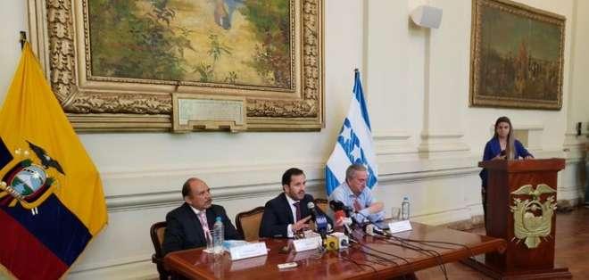 GUAYAQUIL, Ecuador.- El secretario Anticorrupción, Iván Granda, anunció la decisión desde la Gobernación del Guayas.