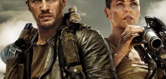 Tom Hardy y Charlize Theron trabajan en Mad Max: Furia en la Carretera.