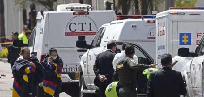 Ataques con explosivos dejan 16 heridos en Colombia. Foto: AFP