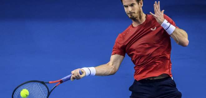 El tenista escocés venció a Tennys Sandgren en primera ronda de Zuhai. Foto: STR / AFP