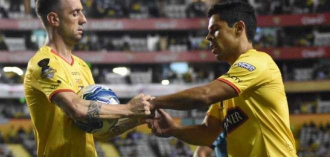 Los 'toreros' igualaron 0-0 con El Nacional, pero pasaron de ronda por el gol de visitante. Foto: Tomada de @BarcelonaSC