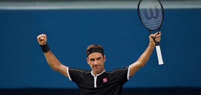 Roger Federer, tenista suizo que vendrá a Ecuador.