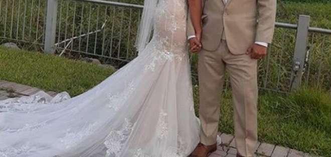 Foto: IGCecilia Cascante y Martín Calle, un amor que nació en '3 Familias'.