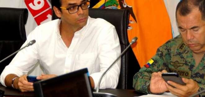 El Gobernador del Guayas informó que los manifestantes se retiraron. Foto: Tomada de @GoberdelGuayas