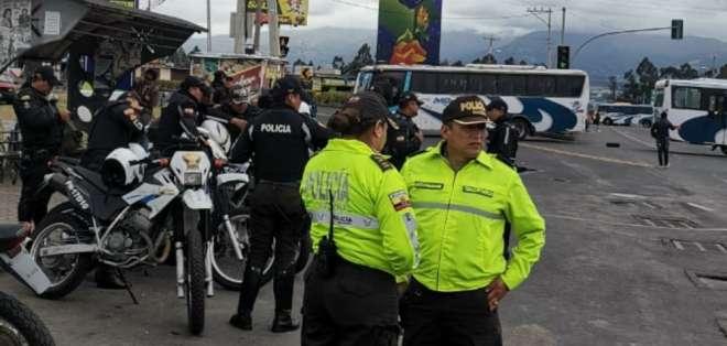 """Así lo anunció la entidad """"con el fin de precautelar la seguridad de los ciudadanos"""". Foto: Tomada de @Inten_Pichincha"""