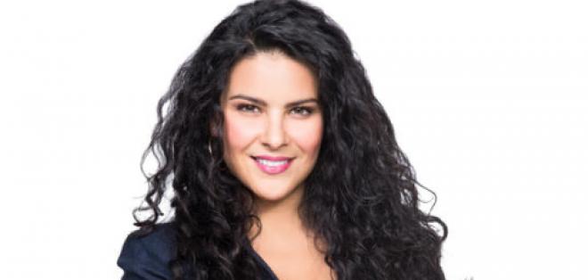 Litzy Domínguez actriz de la novela 'Una maid en Manhattan'