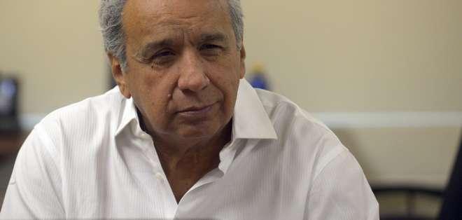"""Moreno señaló el lunes a Maduro y a Correa de activar un """"plan de desestabilización"""" para sacarlo del poder. Foto: AFP"""