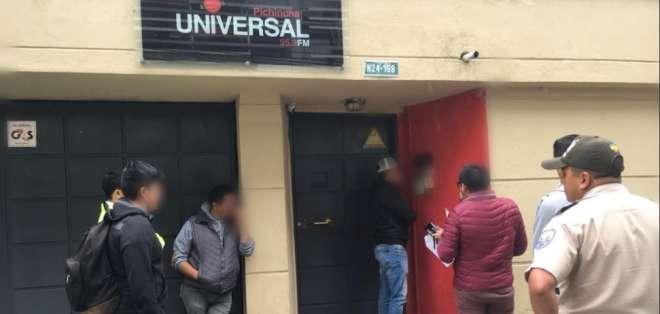 La medida se toma para recabar información sobre presunto delito, informó la entidad. Foto: Tomada de @FiscaliaEcuador