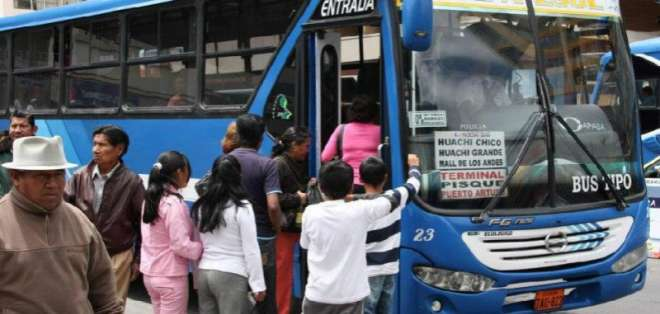 ANT dispone incremento de $0,10 en pasaje urbano en Ecuador. Foto: Archivo - Referencial