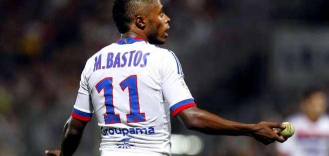 Michel Bastos, figura del Lyon.
