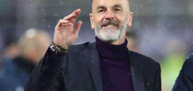 Stefano Pioli, estratega del AC Milan.