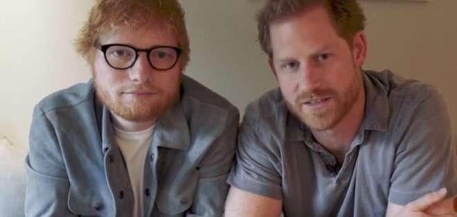 El Príncipe Harry y Ed Sheeran comparten una característica física que provoca el bullying en Reino Unido.