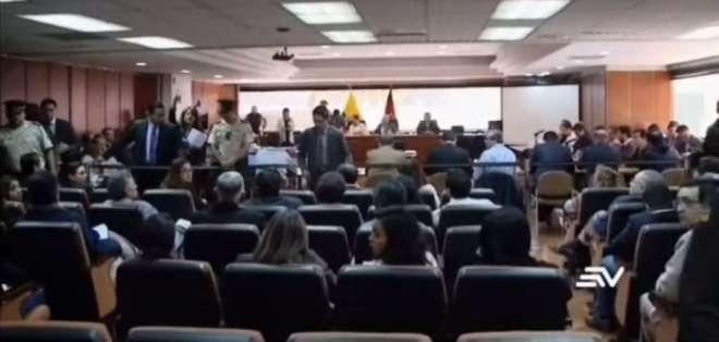 Esta semana debían darse tres diligencias judiciales que se difirieron. Foto: Captura